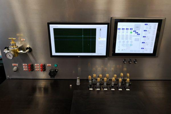 Univerzális mobil tesztpad szoftverrel légfékek szivárgás ellenőrzésére