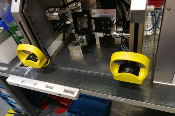 Komplex Poka Yoke ellenőrző rendszer kézifék gyártásának részfolyamatára